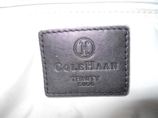 Cole Haan Leather Studded Satchel in black Image 7
