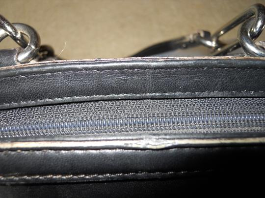 Cole Haan Leather Studded Satchel in black Image 9