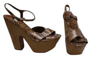 Sam Edelman Bronze Metallic Sandals