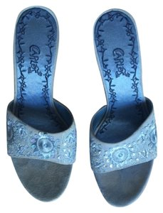 Carlos by Carlos Santana Light blue Pumps