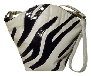 Paul Joseph Vintage Leather Zebra Cross Body Bag