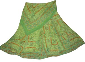 Coldwater Creek Skirt green print