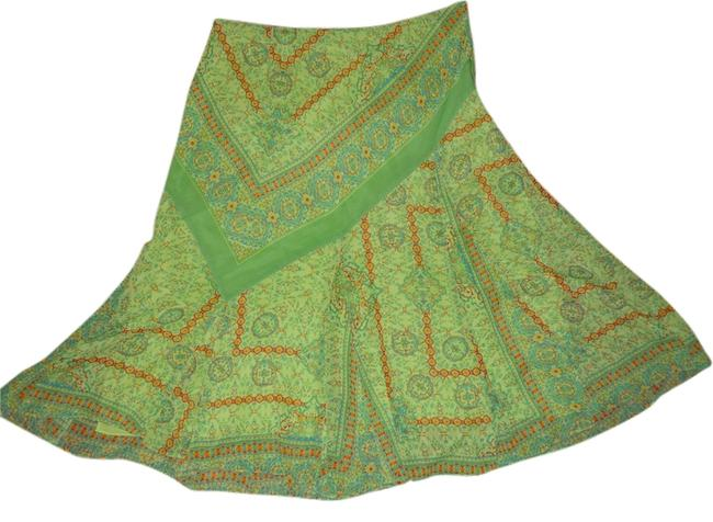 Preload https://img-static.tradesy.com/item/8050129/coldwater-creek-green-print-midi-skirt-size-14-l-34-0-3-650-650.jpg