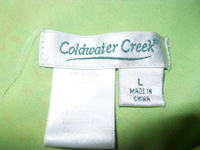 Coldwater Creek Skirt green print Image 4