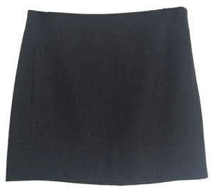 J.Crew Mini Skirt Charcoal Gray
