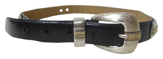 Preload https://item1.tradesy.com/images/unknown-black-genuine-leather-belt-with-silvertone-hardware-medium-805070-0-0.jpg?width=440&height=440