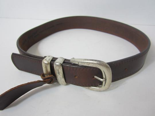 Billy Belts Billy Belts Brown Genuine Leather Belt Size 28 Made in USA