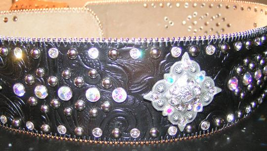 Other Reduced! Western Bling Extra Wide Belt Free Shipping Image 2
