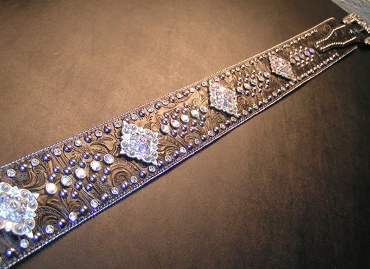 Other Reduced! Western Bling Extra Wide Belt Free Shipping Image 3