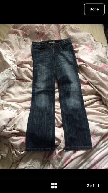 Dior Straight Leg Jeans-Medium Wash