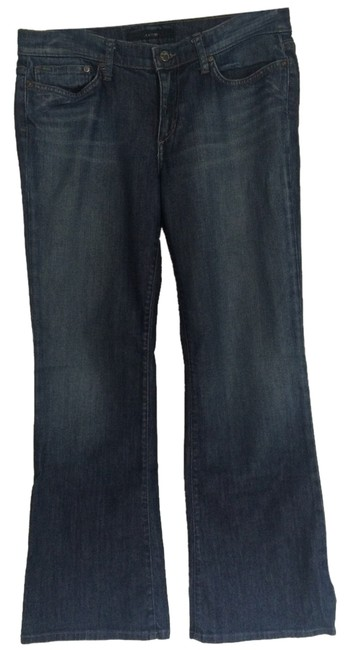Item - Washed Denim Distressed Boot Cut Jeans Size 31 (6, M)