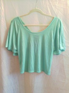 Wet Seal T Shirt Green