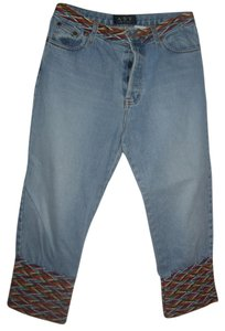 A.B.S. by Allen Schwartz Capri/Cropped Denim-Light Wash