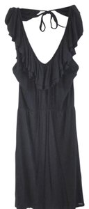 Buffalo David Bitton short dress black Ruffle Halter on Tradesy