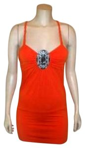 LOVE & LOVE Size Small Top ORANGE