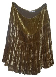 Cache short dress gold on Tradesy