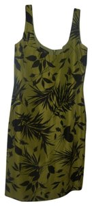 Dana Buchman short dress green/blk on Tradesy
