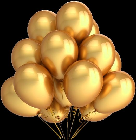 Gold and Silver 120 Pcs - & Birthday Party Decor Latex Balloons Table Top Arch Ceremony Decorations