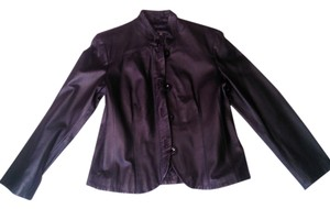 Terry Lewis Classic Luxuries Leather black Leather Jacket