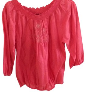 Lucky Brand Top Orange