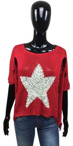 Other Distressed Star Sweater