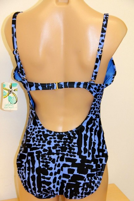 ISLAND ESCAPE SWIMSUIT 10 NWT ISLANDS ESCAPE PUSH UP TANK HOOKS IN BACK