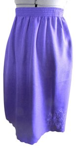 BonWorth Dressy Professional Skirt Purple