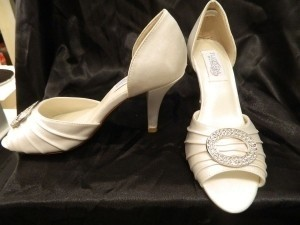 Dyeables Onxy Wedding Shoes