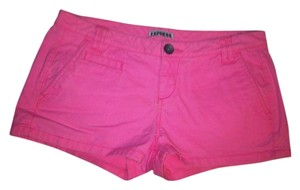 Express Colored Color Mini/Short Shorts Pink