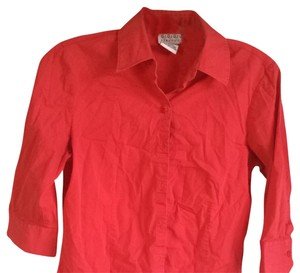 George Button Down Shirt Hot Pink