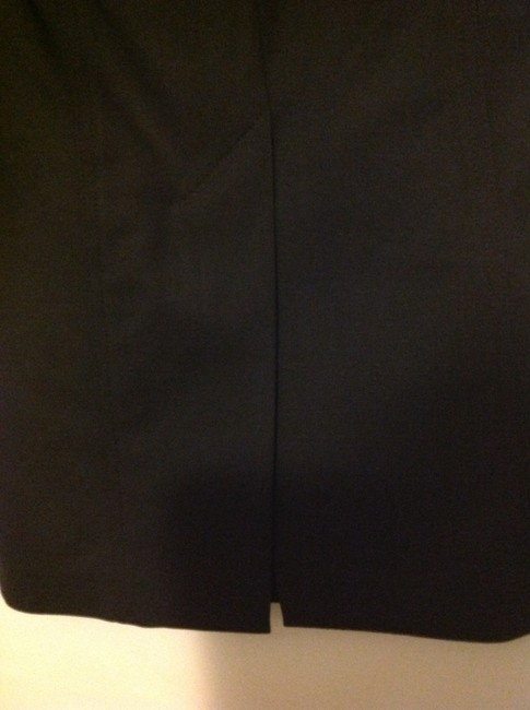 Bebe Dryclean Only 97% 3%spandex Made Shape Skirt Black pencil