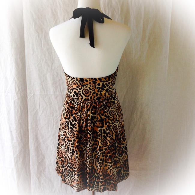 Candie's short dress Leopard Print on Tradesy