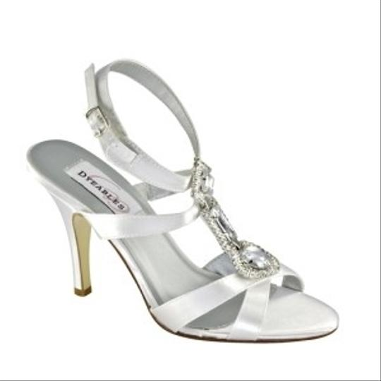 Dyeables Diamond/Silk White Nell Size US 8.5
