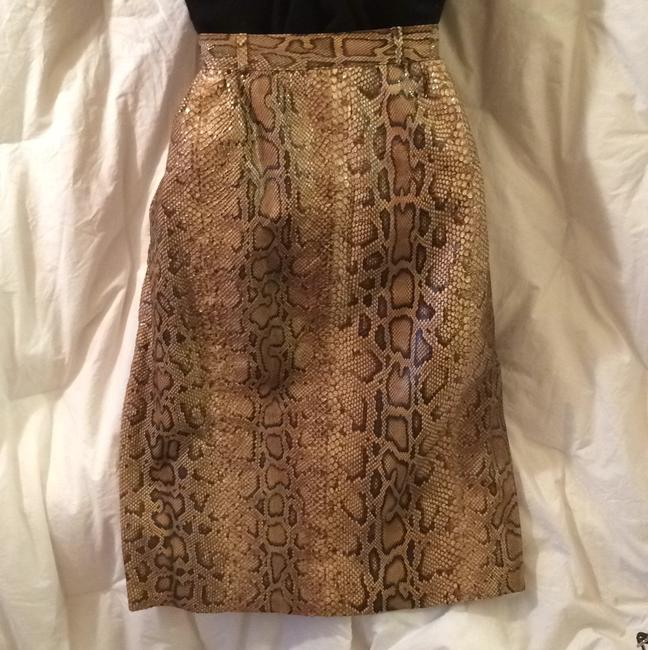 Valentino Skirt Brown, tan, green hues Image 1