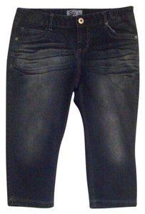 Social Occasions Capri/Cropped Denim-Dark Rinse