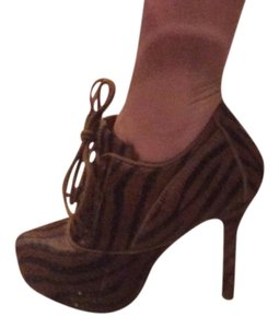 Plomo Brown with black stripes Boots