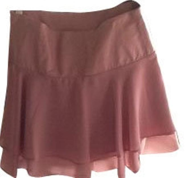 Preload https://item5.tradesy.com/images/bebe-pale-pink-leather-waistband-with-layer-ruffle-miniskirt-size-2-xs-26-8069-0-0.jpg?width=400&height=650