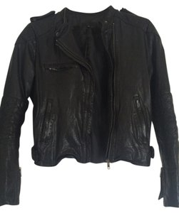 JOE'S Jeans Moto Quilted Leather Jacket