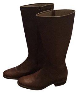 Lands' End Beautiful Cognac brown Boots