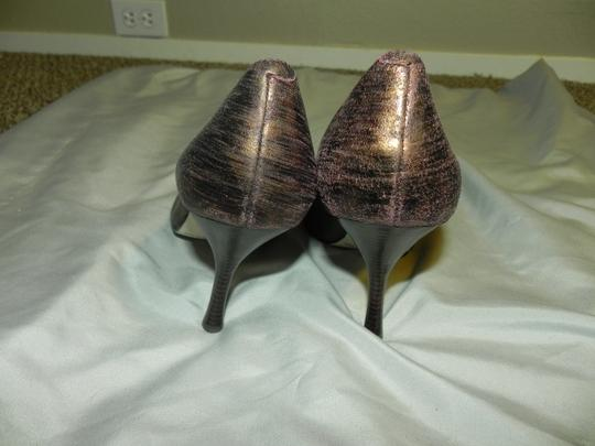 Enzo Angiolini Animal Print Date Night Wedding Bronze Leopard Pumps Image 5