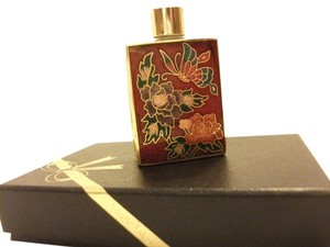 Golden Cloisonne Corp. NEW Cloisonne Miniture perfume bottle,Golden Cloisonne corp. 2.2 ounces with satin liner gift box
