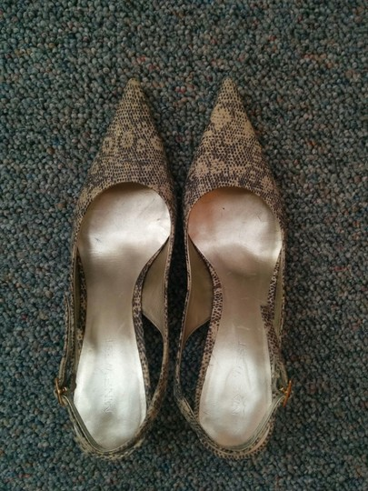 Nine West Metallic, cream, and gold Pumps Image 2
