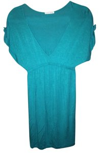 Lush short dress Emerald on Tradesy