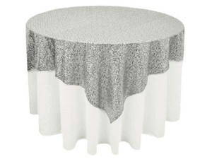Grand Duchess Sequin Table Overlays