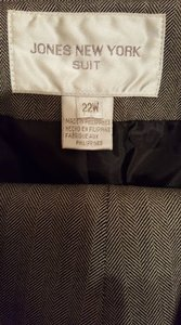 Jones New York Jones Two Piece Pinstripe Pants Suit