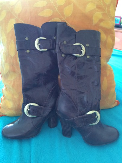 Naughty Monkey Brown Boots Image 3