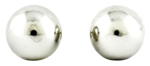 Tiffany & Co. Tiffany & Co. 10mm Bead Earrings in 925 Sterling Silver with Pouch