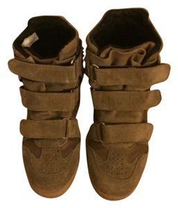 Modern Vice Taupe Wedges