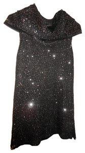 Antonio Melani Sparkle Knit Top Black