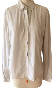 shirley halmos Button Down Shirt stippes